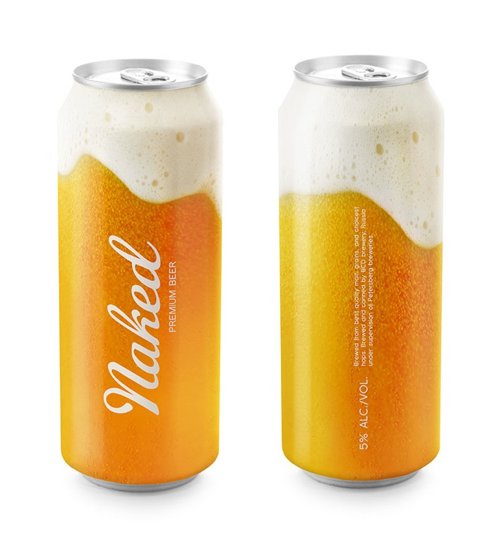 naked beer - Designed by Timur Salikhov,